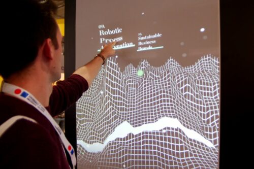 Preview image of Deloitte Digital at the DMEXCO 2019: multi-touch installation