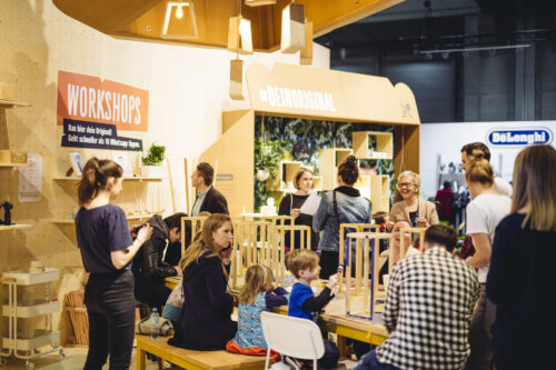 """Preview image of OBI at """"Wohnen & Interieur Vienna 2019"""" – """"Create by OBI!"""""""