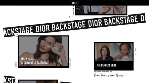 Preview image of Dior Backstage Virtual Beauty Show