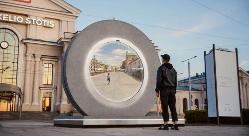 """Preview image of Street Installation """"PORTAL"""""""