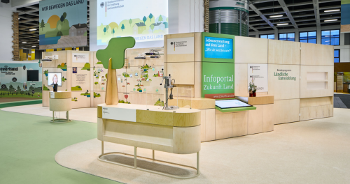 Preview image of Digital Touchwall at International Green Week 2019