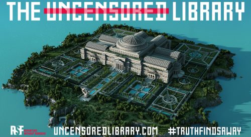 """Preview image of """"Uncensored Library"""": Online Game Campaign against Censorship"""