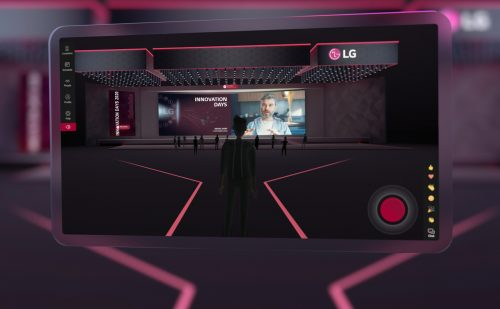 Preview image of LG Corporate Virtual Conference Experience