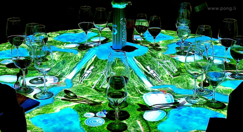 """Preview image of Table Projection """"50 Years of Fischer Group"""""""